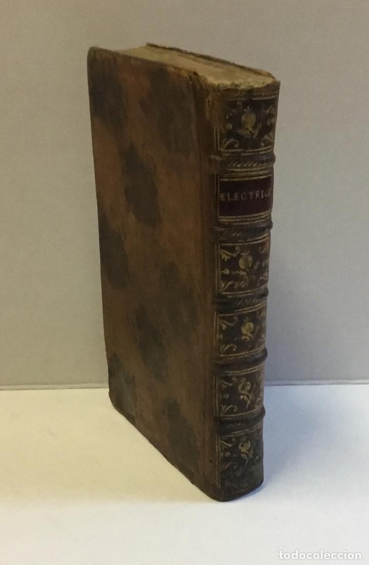 L'ELECTRICITÉ SOUMISE A UN NOUVEL EXAMEN... [PAULIAN, AIMÉ HENRI.] 1768. ELECTRICIDAD. (Libros Antiguos, Raros y Curiosos - Ciencias, Manuales y Oficios - Física, Química y Matemáticas)