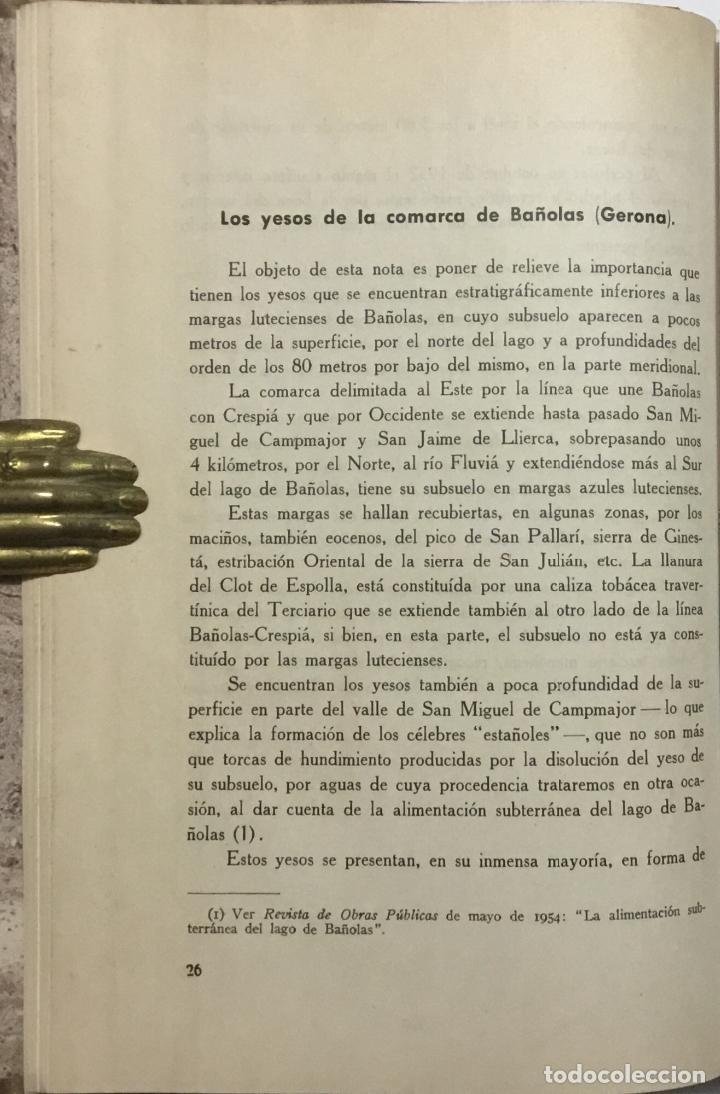 Libros antiguos: JEFATURA DE SONDEOS, CIMENTACIONES E INFORMES GEOLOGICOS. BOLETIN Nº 1. Informaciones y estudios. - - Foto 4 - 114799680