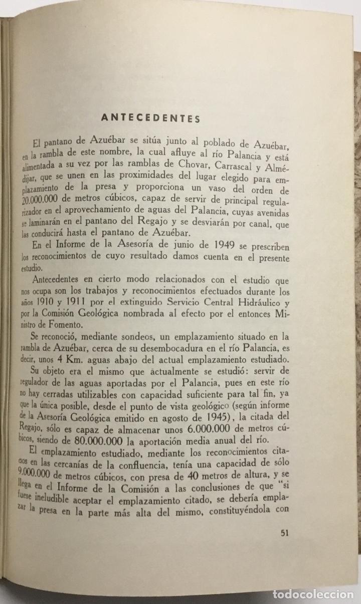 Libros antiguos: JEFATURA DE SONDEOS, CIMENTACIONES E INFORMES GEOLOGICOS. BOLETIN Nº 1. Informaciones y estudios. - - Foto 8 - 114799680