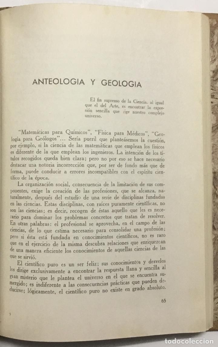 Libros antiguos: JEFATURA DE SONDEOS, CIMENTACIONES E INFORMES GEOLOGICOS. BOLETIN Nº 1. Informaciones y estudios. - - Foto 10 - 114799680