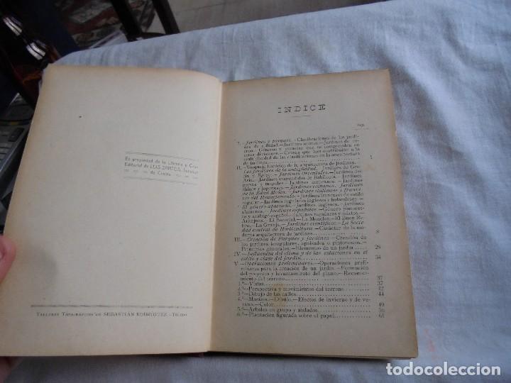 Libros antiguos: TRATADO DE JARDINERIA Y FLORICULTURA.HISTORIA DE LA JARDINERIA.PEDRO JULIAN MUÑOZ Y RUBIO.MADRID 193 - Foto 3 - 114934859