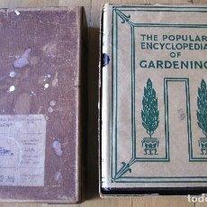 Libros antiguos: THE POPULAR ENCYCLOPEDIA OF GARDENING / ENCICLOPEDIA DE JARDINERIA EN INGLES, AÑOS 50 APROX. Lote 114999743