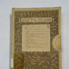 Libros antiguos: CATECISMOS DEL AGRICULTOR Y DEL GANADERO. SERIE VIII. SELVICULTURA E INGENIERIA FORESTAL. TDK336. Lote 115171627