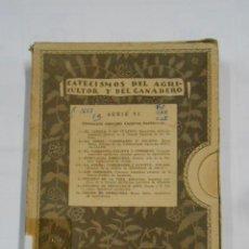 Libros antiguos: CATECISMOS DEL AGRICULTOR Y DEL GANADERO. SERIE VI. FITOTECNIA ESPECIAL: CULTIVOS HERBACEOS. TDK336. Lote 115174895