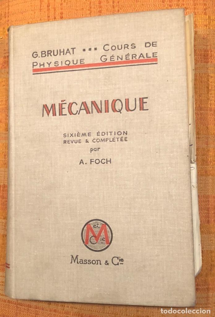 Libros antiguos: MECANIQUE BRUHAT(30€) - Foto 2 - 115258047
