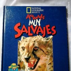 Libros antiguos: ANIMALES MUY SALVAJES, EN LAS LLANURAS DE AFRICA.. Lote 115439263