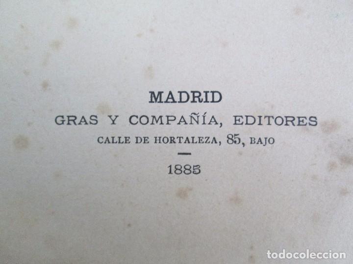 Libros antiguos: MANUAL DE ZOOLOGIA. IGNACIO BOLIVAR Y SALVADOR CALDERON. 1885. VER FOTOGRAFIAS - Foto 8 - 115547079