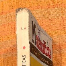 Libros antiguos: MATEMATICAS PREUNIVERSITARIO(20€). Lote 115592311