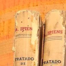 Libros antiguos: TRATADO DE QUIMICA GENERAL-IPIENS-2 TOMOS(30€). Lote 115593711