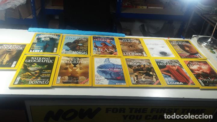 Libros antiguos: Lote de 13 revistas National Geografic - Foto 4 - 115613643