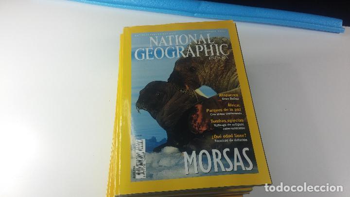 Libros antiguos: Lote de 13 revistas National Geografic - Foto 9 - 115613643