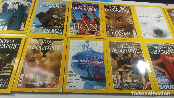 Libros antiguos: Lote de 13 revistas National Geografic - Foto 7 - 115613643