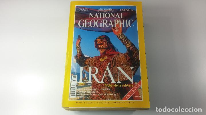 Libros antiguos: Lote de 13 revistas National Geografic - Foto 13 - 115613643