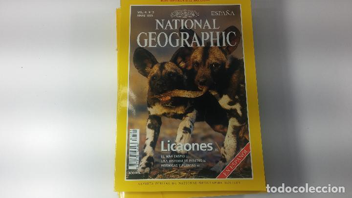 Libros antiguos: Lote de 13 revistas National Geografic - Foto 18 - 115613643
