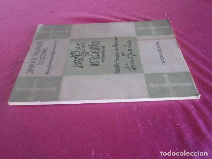 Libros antiguos: LAS MURIAS DE BELOÑO CENERO, GIJON UNA VILLA ROMANA EN ASTURIAS 1957 - Foto 3 - 115683939