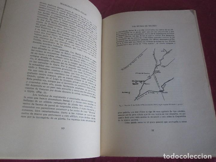 Libros antiguos: LAS MURIAS DE BELOÑO CENERO, GIJON UNA VILLA ROMANA EN ASTURIAS 1957 - Foto 7 - 115683939