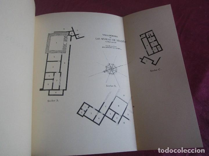Libros antiguos: LAS MURIAS DE BELOÑO CENERO, GIJON UNA VILLA ROMANA EN ASTURIAS 1957 - Foto 9 - 115683939