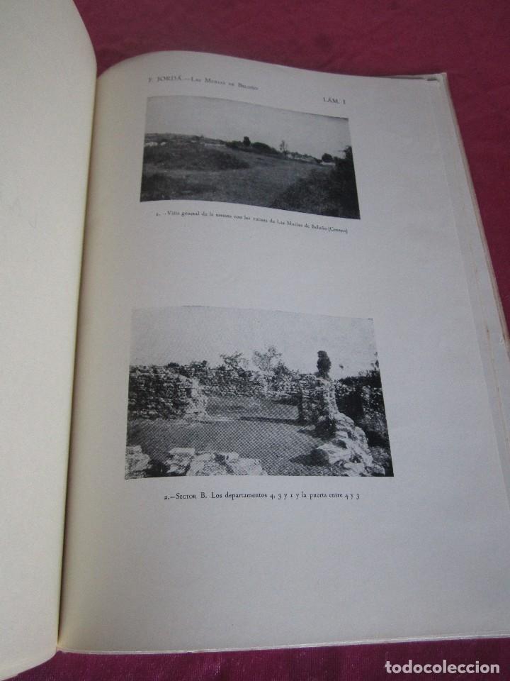Libros antiguos: LAS MURIAS DE BELOÑO CENERO, GIJON UNA VILLA ROMANA EN ASTURIAS 1957 - Foto 12 - 115683939