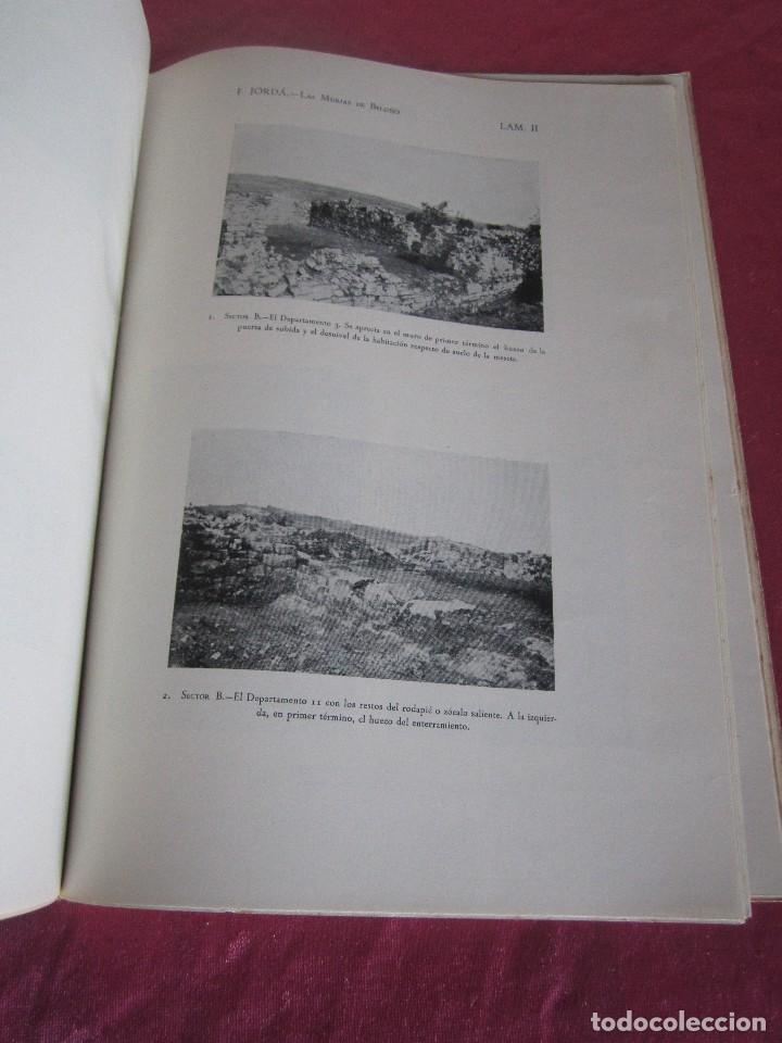 Libros antiguos: LAS MURIAS DE BELOÑO CENERO, GIJON UNA VILLA ROMANA EN ASTURIAS 1957 - Foto 13 - 115683939