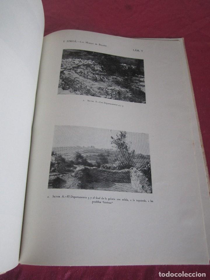 Libros antiguos: LAS MURIAS DE BELOÑO CENERO, GIJON UNA VILLA ROMANA EN ASTURIAS 1957 - Foto 14 - 115683939