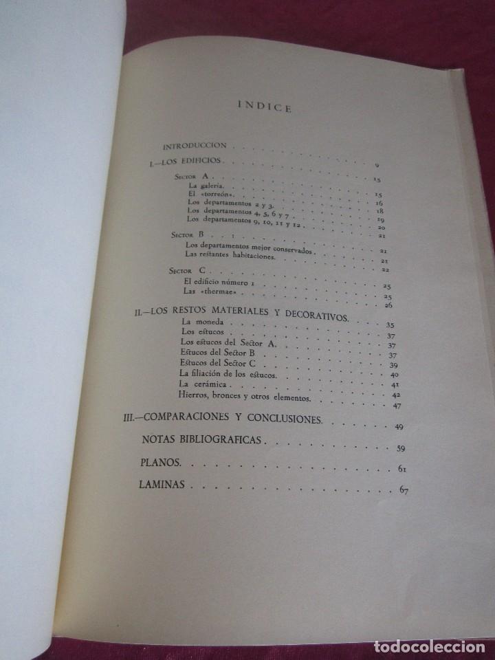 Libros antiguos: LAS MURIAS DE BELOÑO CENERO, GIJON UNA VILLA ROMANA EN ASTURIAS 1957 - Foto 15 - 115683939