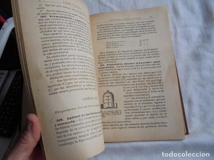 Libros antiguos: ELEMENTOS DE AGRICULTURA Y TECNICA AGRICOLA E INDUSTRIAL.-1ª PARTE.MADRID 1908 - Foto 12 - 115754051