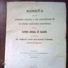 Libros antiguos: PARTIDO JUDICIAL DE SALDAÑA AÑO 1893. Lote 115755763