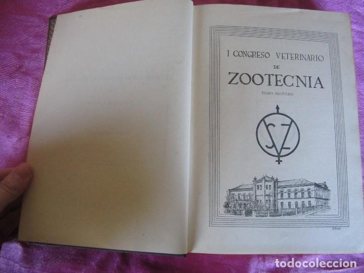 Libros antiguos: PRIMER CONGRESO VETERINARIO DE ZOOTECNIA TOMO 2 - Foto 7 - 115869619