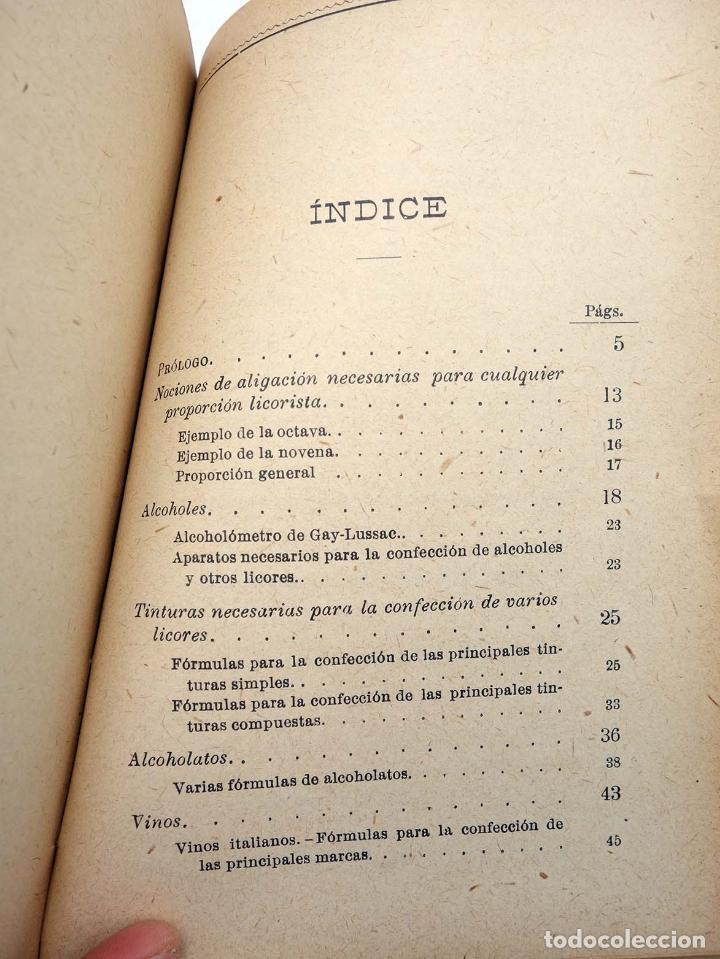 Libros antiguos: MANUALES SOLER XXXVII 37. FORMULARÍO QUÍMICO INDUSTRIAL (P Trías y Planes) Suc. Manuel Soler, s/f - Foto 3 - 116055744
