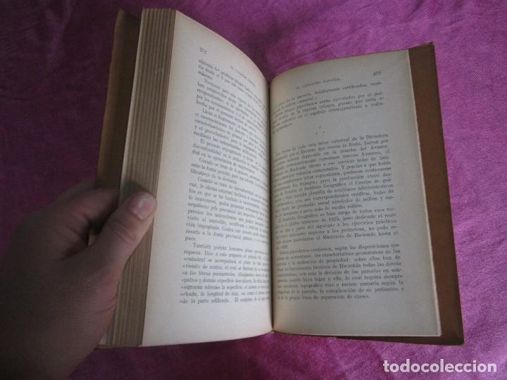 Libros antiguos: EL CATASTRO ESPAÑOL ENRIQUE ALCARAZ MARTINEZ SALVAT EDITORES 1933 PRIMERA EDICION - Foto 2 - 116057959