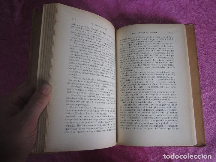 Libros antiguos: EL CATASTRO ESPAÑOL ENRIQUE ALCARAZ MARTINEZ SALVAT EDITORES 1933 PRIMERA EDICION - Foto 3 - 116057959
