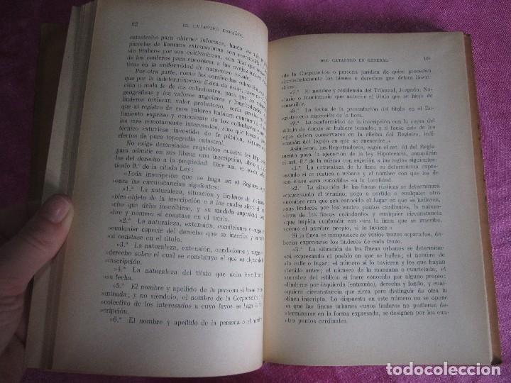 Libros antiguos: EL CATASTRO ESPAÑOL ENRIQUE ALCARAZ MARTINEZ SALVAT EDITORES 1933 PRIMERA EDICION - Foto 6 - 116057959