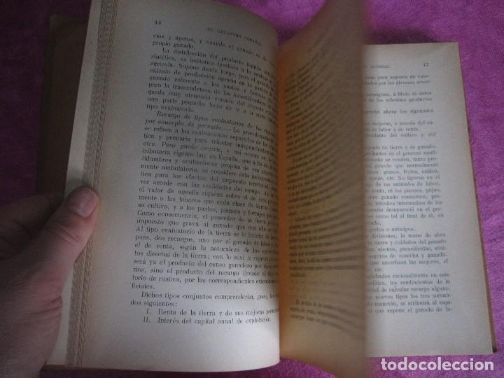 Libros antiguos: EL CATASTRO ESPAÑOL ENRIQUE ALCARAZ MARTINEZ SALVAT EDITORES 1933 PRIMERA EDICION - Foto 7 - 116057959