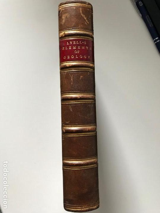 ELEMENTS OF GEOLOGY. LYELL 1871 (Libros Antiguos, Raros y Curiosos - Ciencias, Manuales y Oficios - Paleontología y Geología)