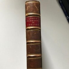 Libros antiguos: ELEMENTS OF GEOLOGY. LYELL 1871. Lote 116078995