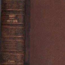 Libros antiguos: TRAITE ELEMENTAIRE DE PHYSIQUE / LIBRE I / MUNDI-3086. Lote 116084779
