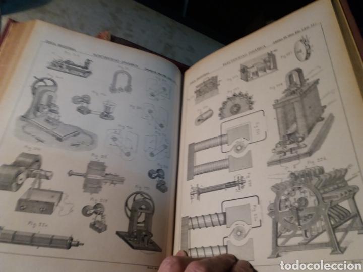 Libros antiguos: Fisica Industrial 1895 completo 3 tomos - Foto 2 - 116171571