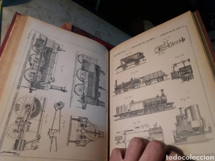 Libros antiguos: Fisica Industrial 1895 completo 3 tomos - Foto 4 - 116171571