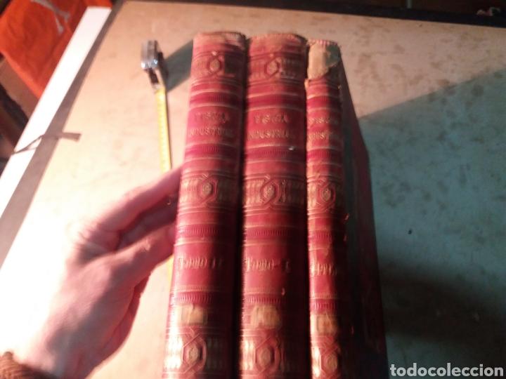 Libros antiguos: Fisica Industrial 1895 completo 3 tomos - Foto 6 - 116171571