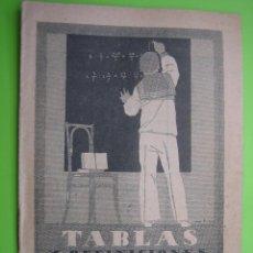 Libros antiguos: TABLAS DE DEFINICIONES ARITMÉTICAS. ED SATURNINO CALLEJA. Lote 117120359