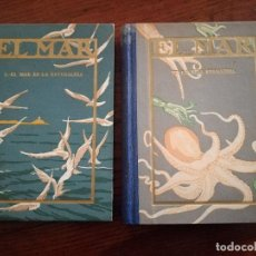 Libros antiguos: EL MAR.CAPITAN ARGUELLO.1942.SEIX BARRAL.4ª EDICION.ILUSTRADO.MARINA.. Lote 117301155