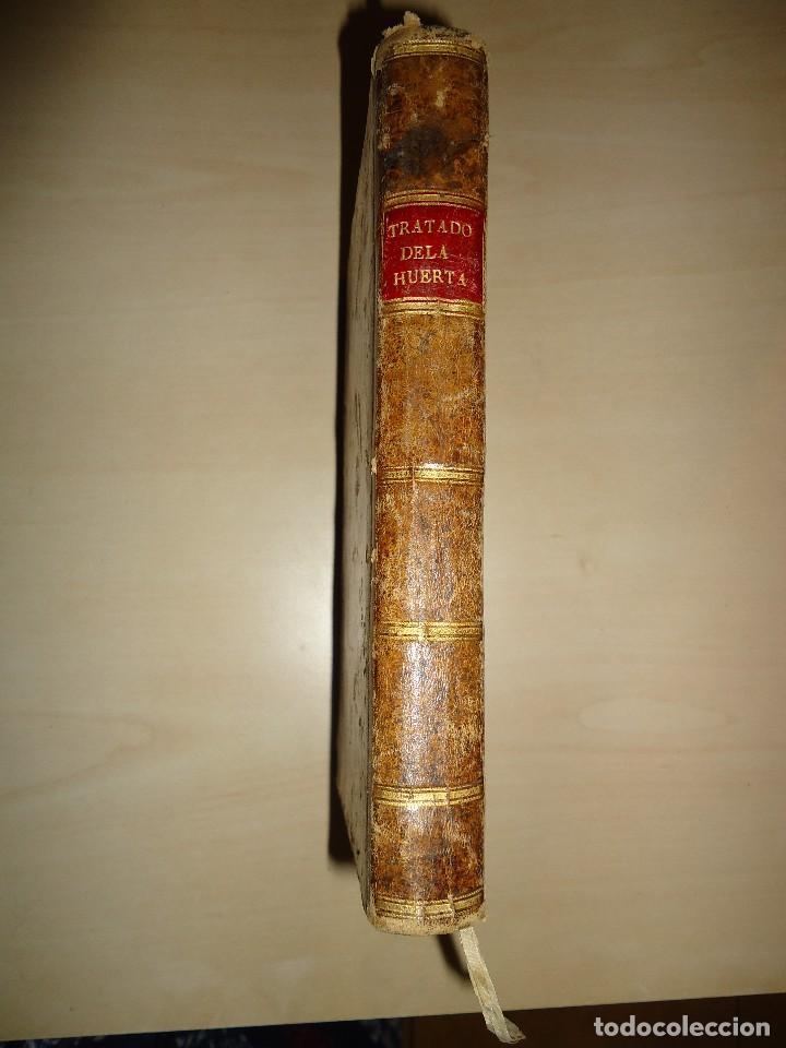 1801 TRATADO DE LA HUERTA - CLAUDIO BOUTELOU / ESTEBAN BOUTELOU - 1ª EDICIÓN (Libros Antiguos, Raros y Curiosos - Ciencias, Manuales y Oficios - Bilogía y Botánica)