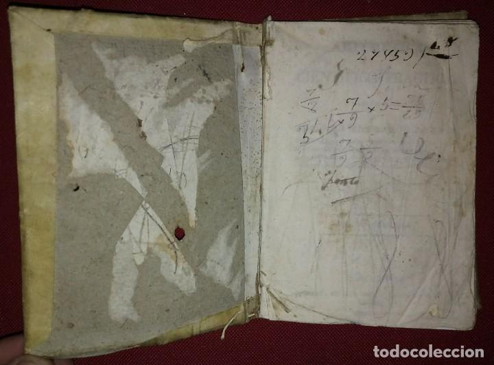 Libros antiguos: 1841 ARITMÉTICA CIENTÍFICO PRÁCTICA Numerado y firmado Cayetano Rivera Parte primera - Foto 3 - 117926991