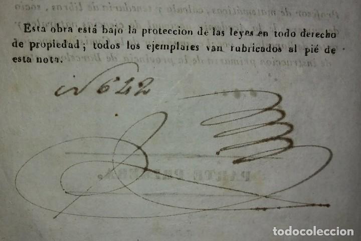 Libros antiguos: 1841 ARITMÉTICA CIENTÍFICO PRÁCTICA Numerado y firmado Cayetano Rivera Parte primera - Foto 4 - 117926991