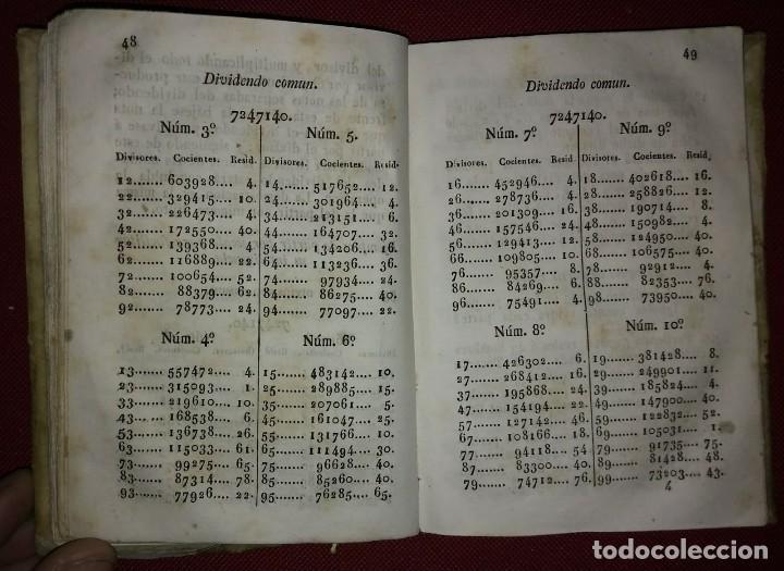 Libros antiguos: 1841 ARITMÉTICA CIENTÍFICO PRÁCTICA Numerado y firmado Cayetano Rivera Parte primera - Foto 5 - 117926991