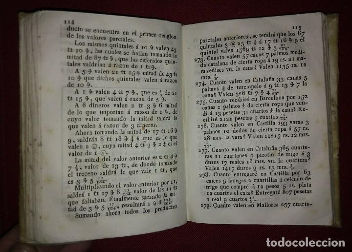 Libros antiguos: 1841 ARITMÉTICA CIENTÍFICO PRÁCTICA Numerado y firmado Cayetano Rivera Parte primera - Foto 6 - 117926991
