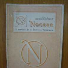 Libros antiguos: REVISTA VETERINARIA NOOSAN. Lote 117984963