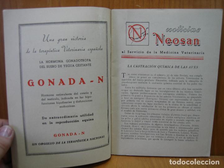 Libros antiguos: Revista veterinaria Noosan - Foto 3 - 117984963
