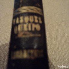 Libros antiguos: TABLAS DE LOS LOGARITMOS VULGARES. VICENTE VAZQUEZ. 1856 18º ED. IMPRENTA MIGUEL GINESTA. Lote 118400543