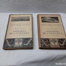 Libros antiguos: GEOLOGÍA DE CATALUNYA. Lote 118874995